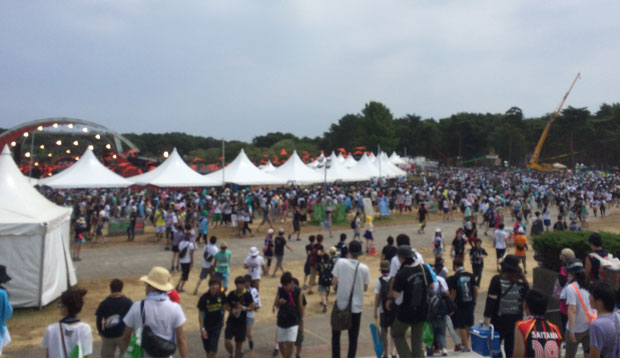 rockinjapanfes2015の様子
